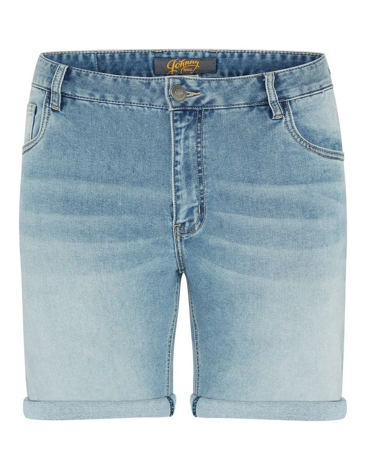 Ray Knit Denim Short image 5
