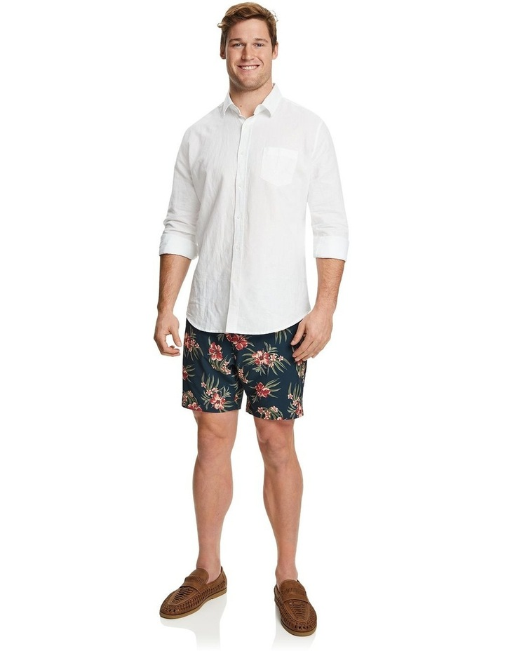 Floral Stretch Swim Shorts image 4