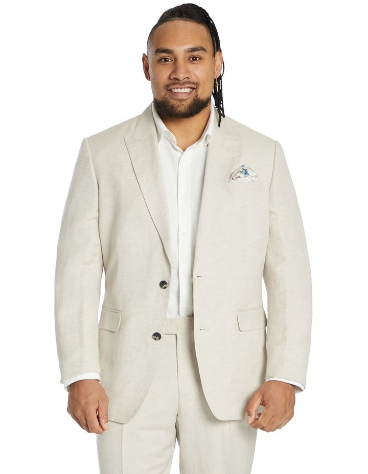 Cruz Linen 2 Button Suit Jacket image 1