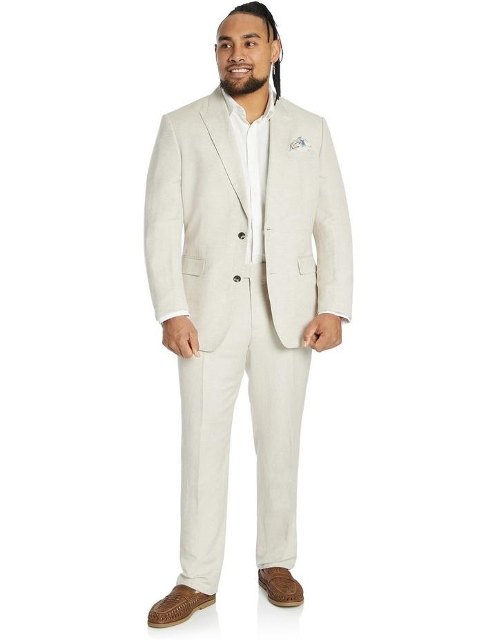 Cruz Linen 2 Button Suit Jacket image 4