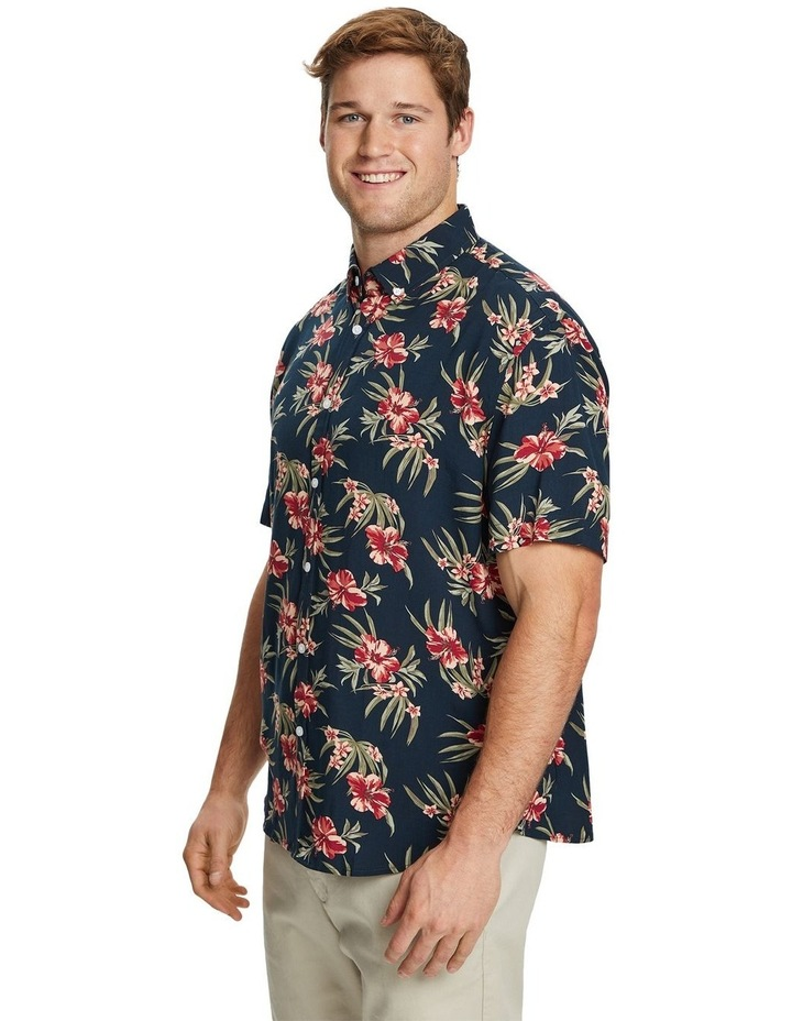 Hibiscus Print Shirt image 2