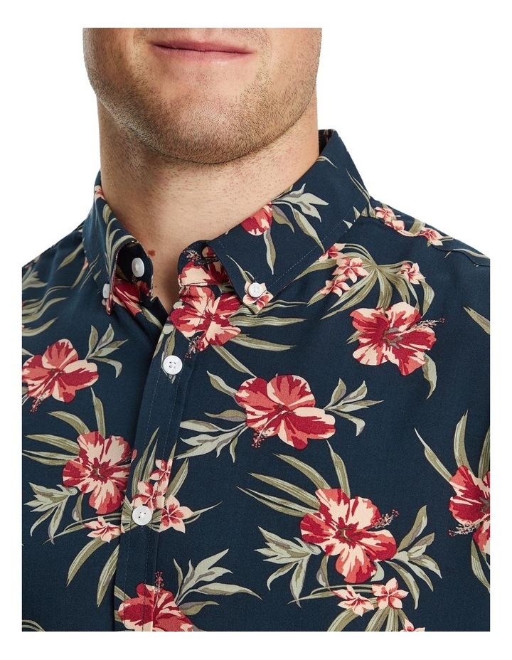 Hibiscus Print Shirt image 3
