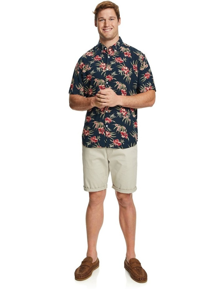 Hibiscus Print Shirt image 4