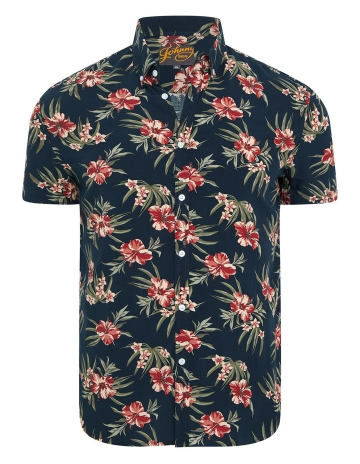 Hibiscus Print Shirt image 5