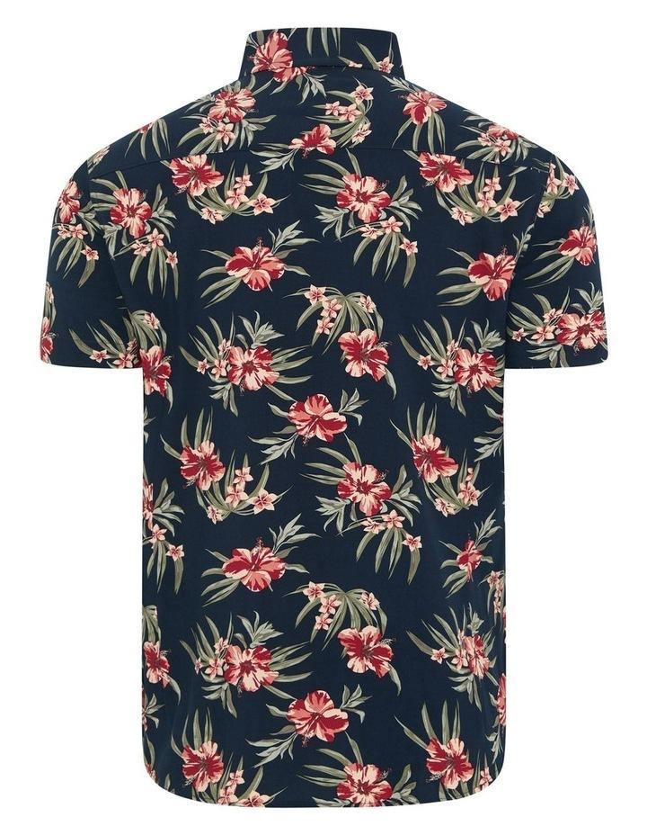 Hibiscus Print Shirt image 6