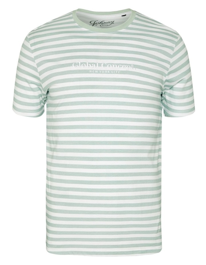 Global Stripe Longline Tee image 5
