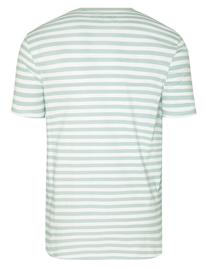 Global Stripe Longline Tee image 6