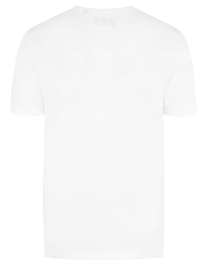 Graphic V Neck Tee image 5