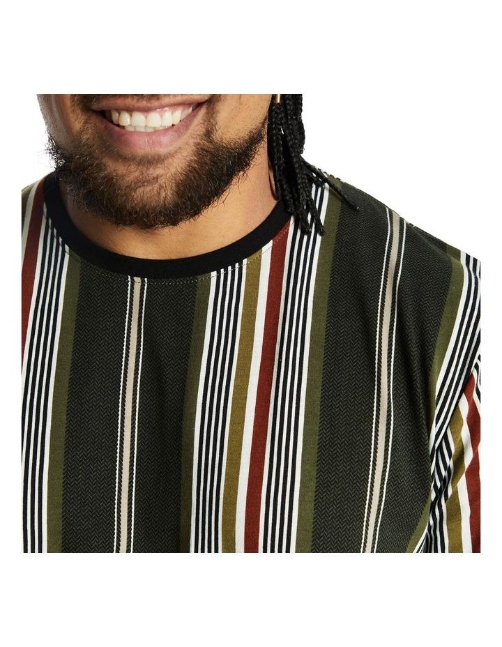 Denton Stripe Longline Tee image 3