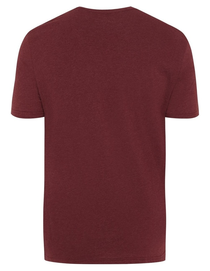 NY Photo Print V Neck Tee image 6
