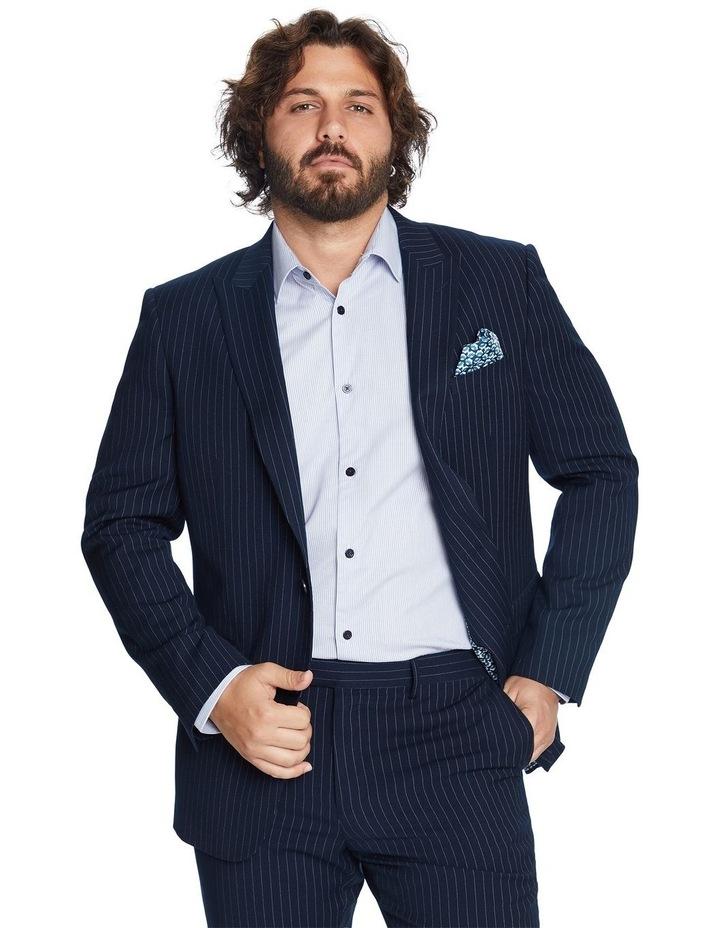 Henry Pinstripe Stretch Suit Jacket image 1