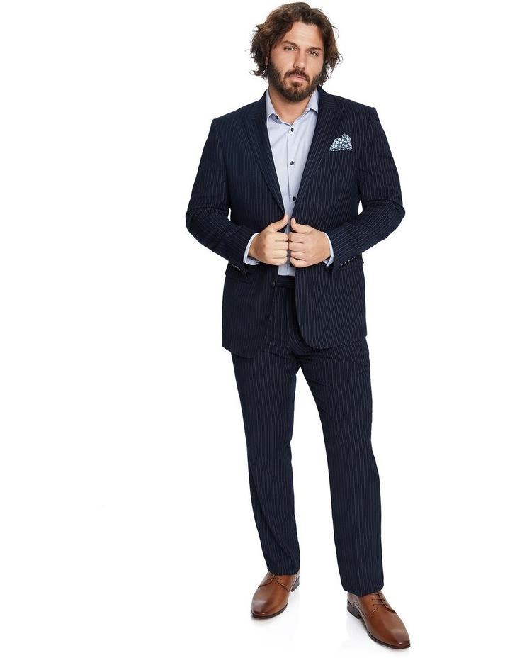 Henry Pinstripe Stretch Suit Jacket image 5