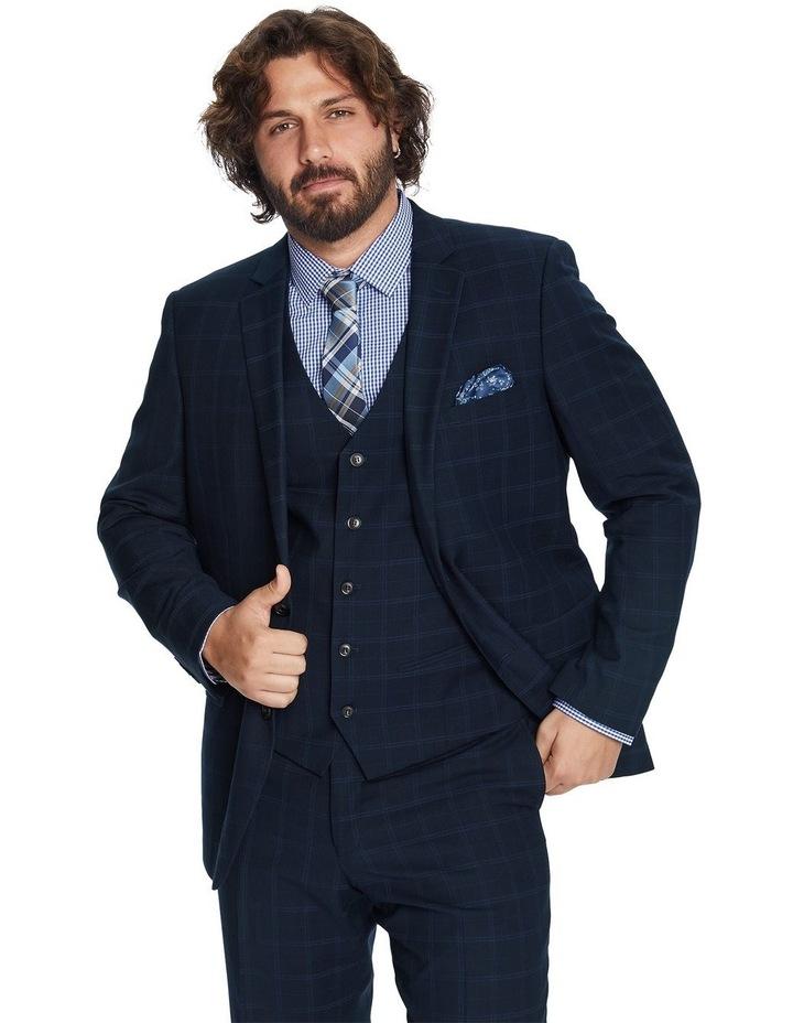 Brooks Check Stretch Suit Jacket image 1