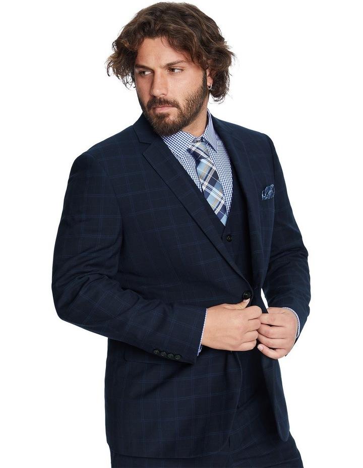 Brooks Check Stretch Suit Jacket image 2