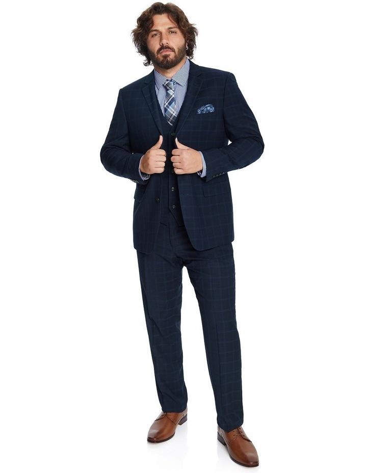Brooks Check Stretch Suit Jacket image 4