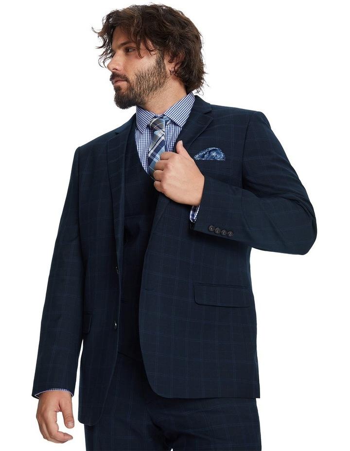 Brooks Check Stretch Suit Jacket image 5
