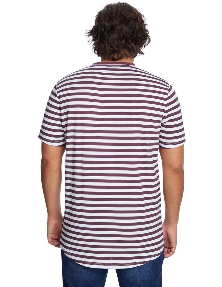 Global Stripe Longline Tee image 3