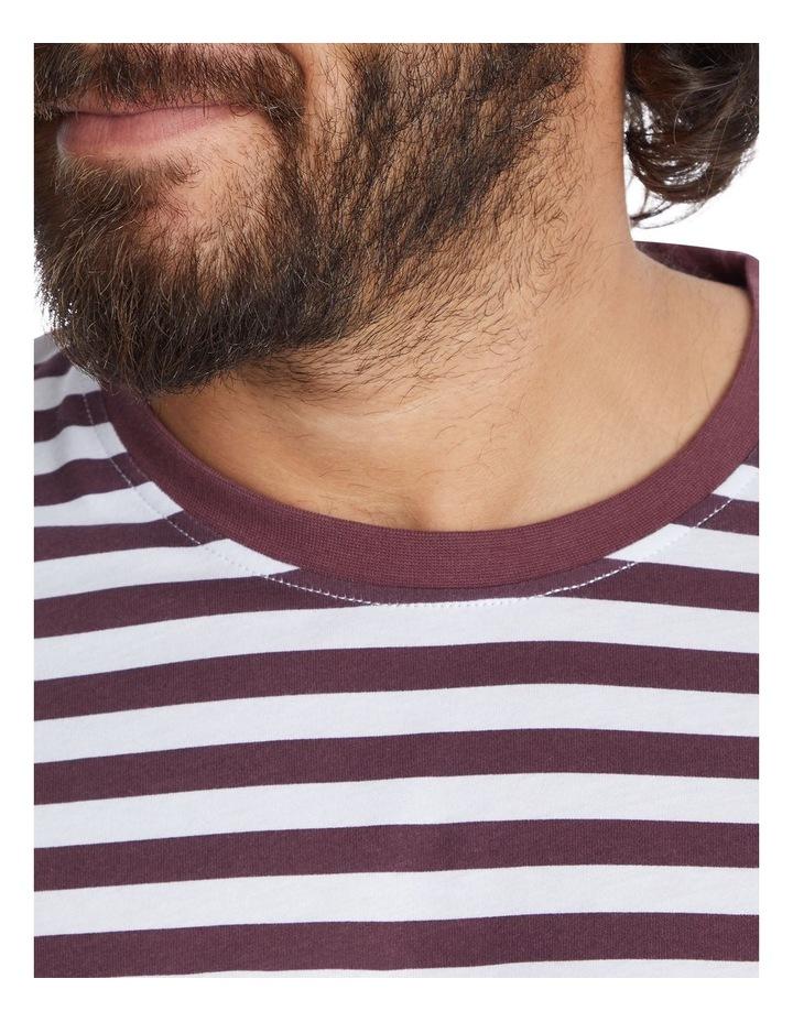 Global Stripe Longline Tee image 4