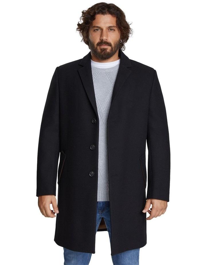 Cade Textured Wool Coat image 1