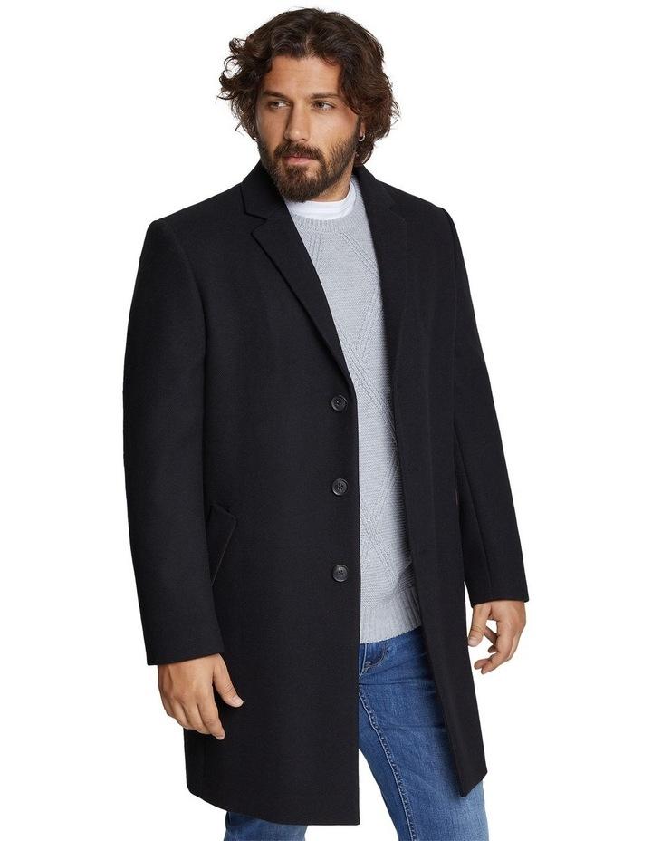 Cade Textured Wool Coat image 2