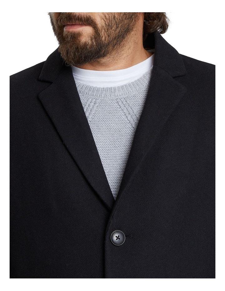 Cade Textured Wool Coat image 4