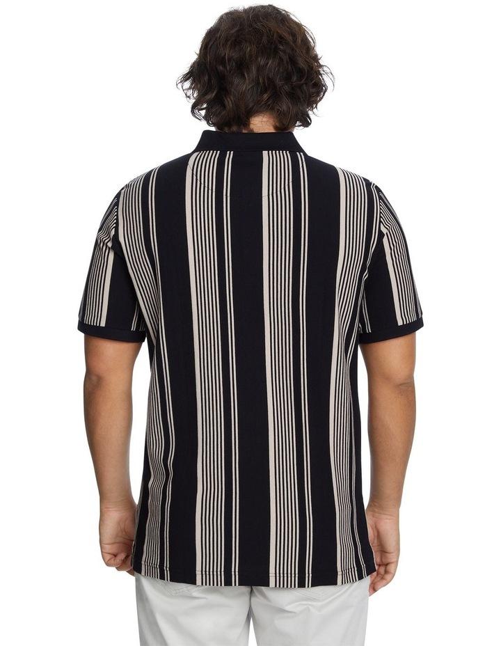 Harrow Stripe Pique Polo image 3