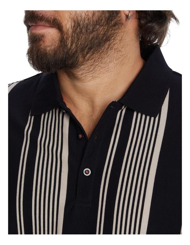 Harrow Stripe Pique Polo image 4