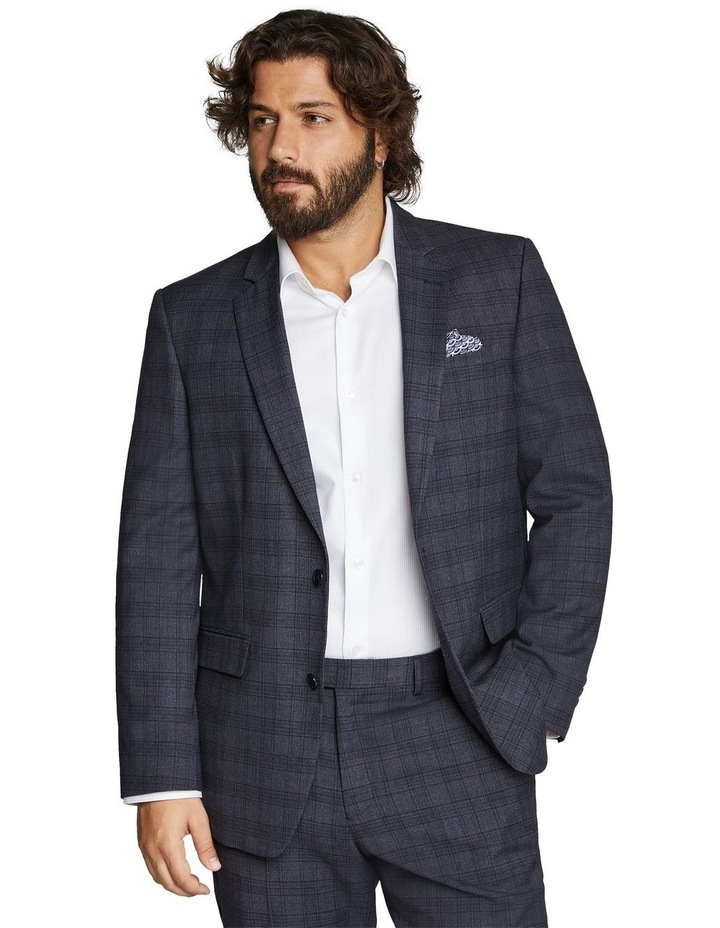 Hercules Check Stretch Suit Jacket image 1