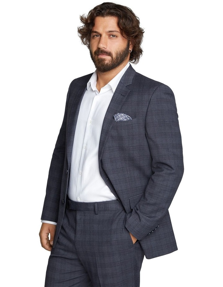 Hercules Check Stretch Suit Jacket image 2