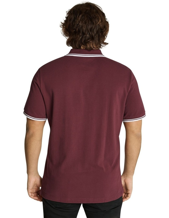 The Harper Tipped Pique Polo image 3