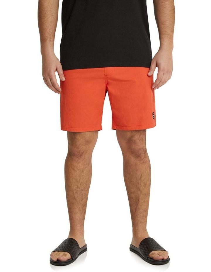 The Tucker Plain Swim Short Tangerine image 1
