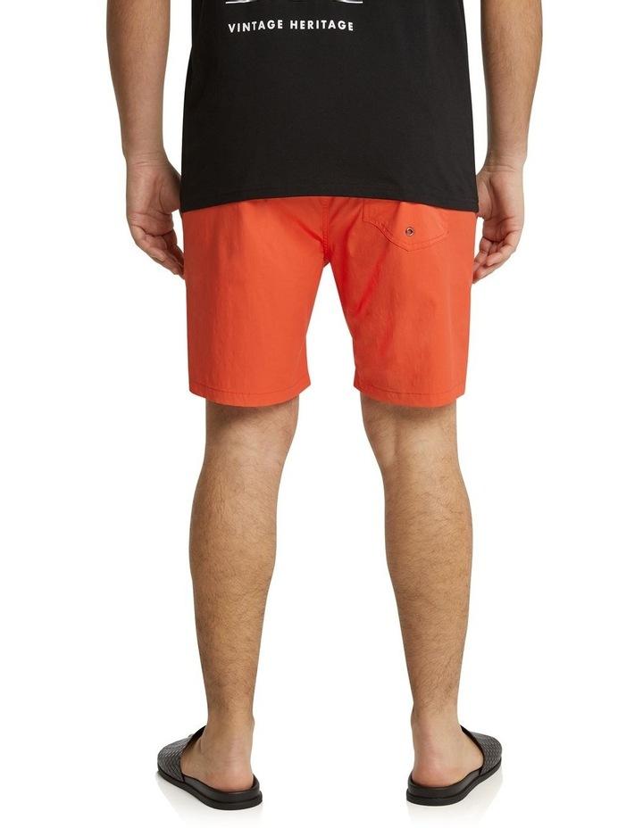 The Tucker Plain Swim Short Tangerine image 3