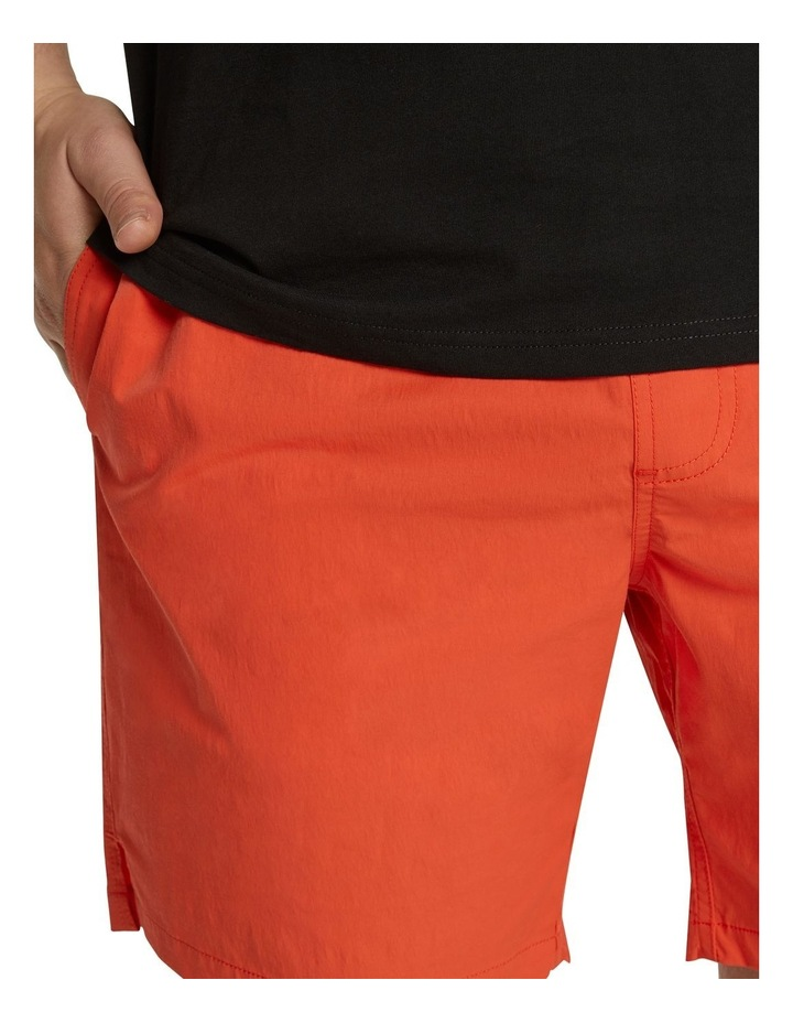The Tucker Plain Swim Short Tangerine image 4