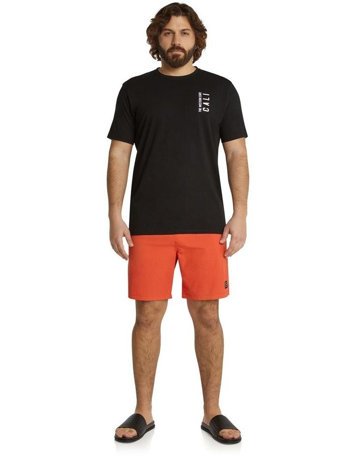 The Tucker Plain Swim Short Tangerine image 5