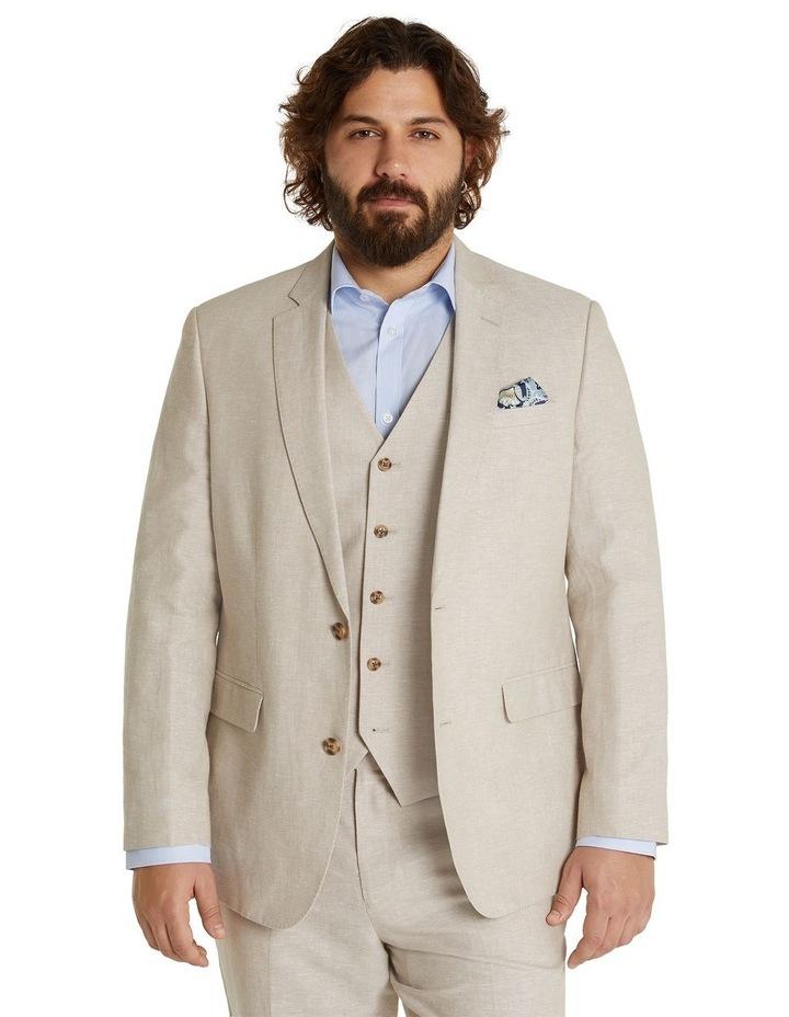 The Hayden Linen Blend Suit Jacket image 1