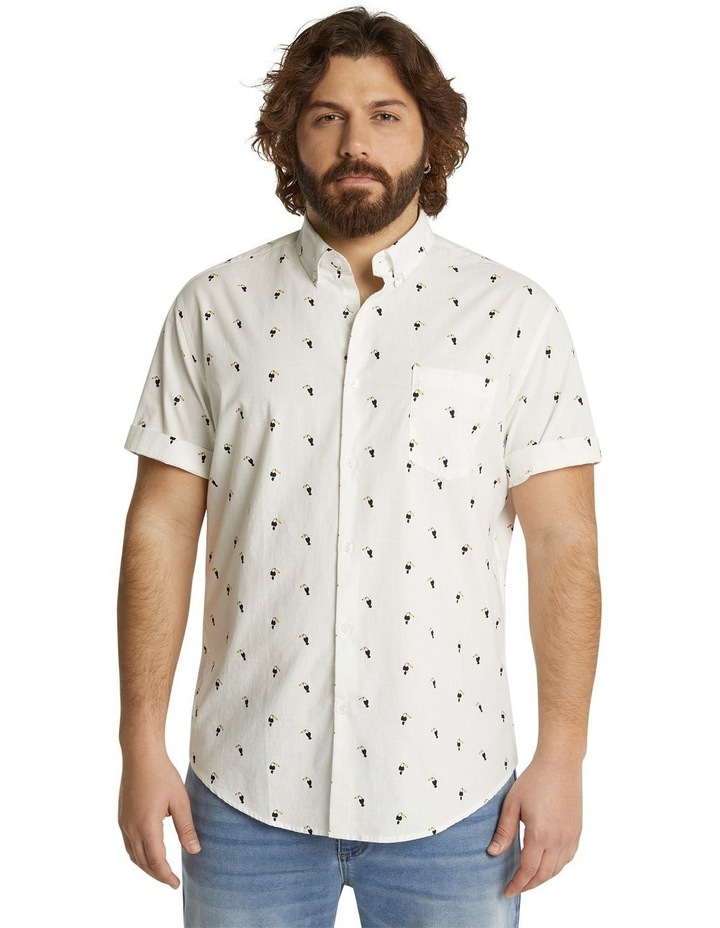 The Avis Toucan Print Shirt White image 1