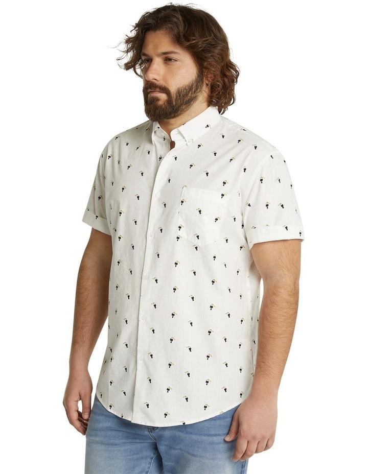 The Avis Toucan Print Shirt White image 2