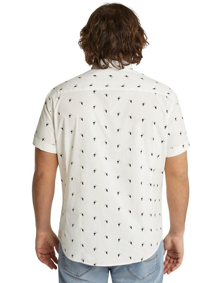 The Avis Toucan Print Shirt White image 3