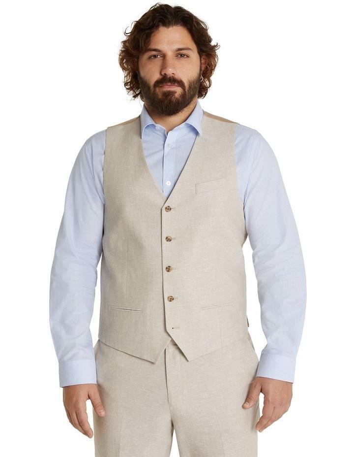 The Hayden Linen Blend Waistcoat image 1