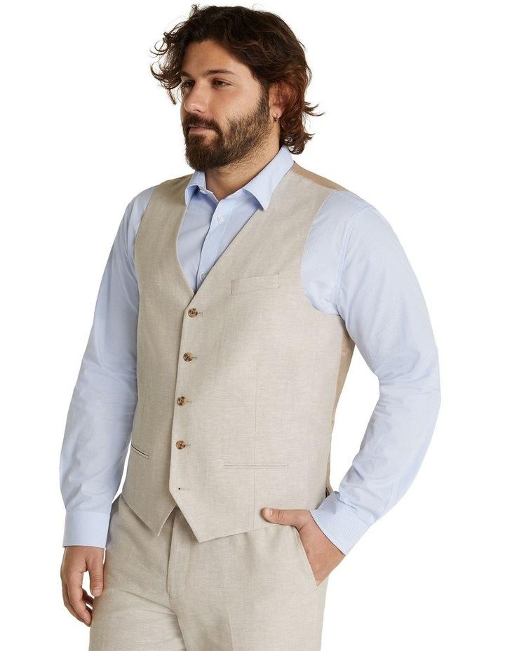 The Hayden Linen Blend Waistcoat image 2