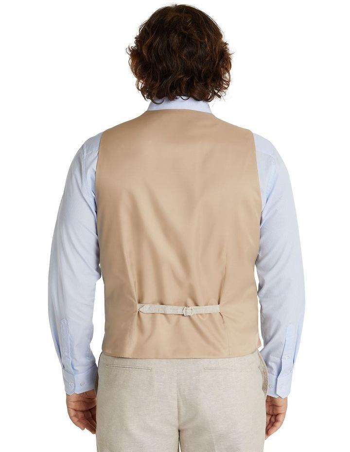The Hayden Linen Blend Waistcoat image 3