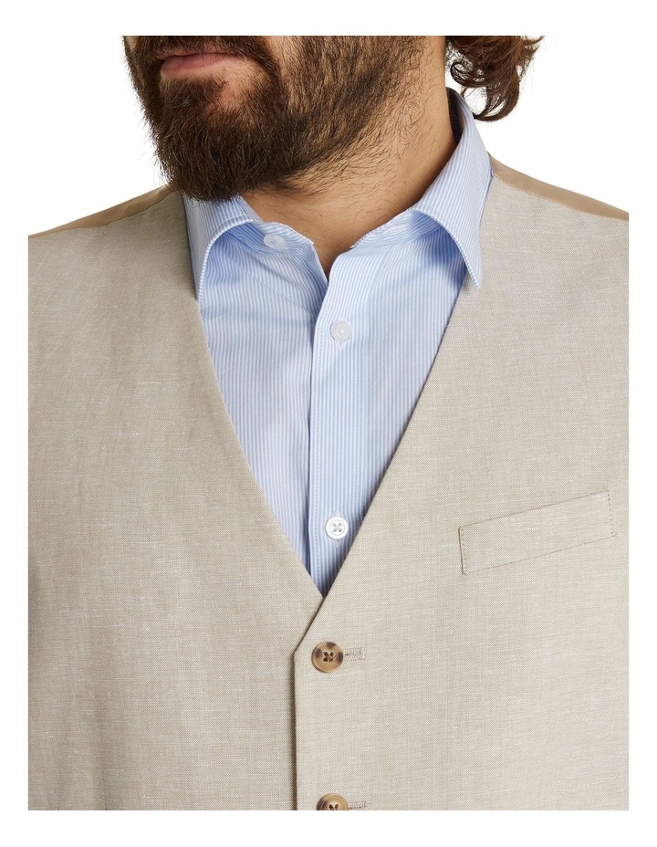 The Hayden Linen Blend Waistcoat image 4