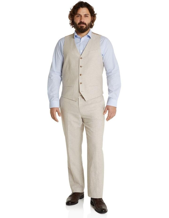 The Hayden Linen Blend Waistcoat image 5