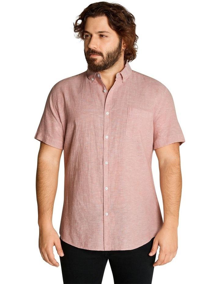 Tahiti Linen Blend Shirt Pink image 1