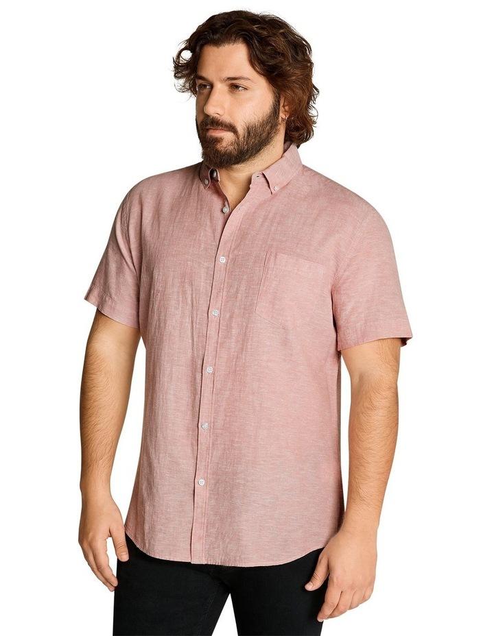 Tahiti Linen Blend Shirt Pink image 2