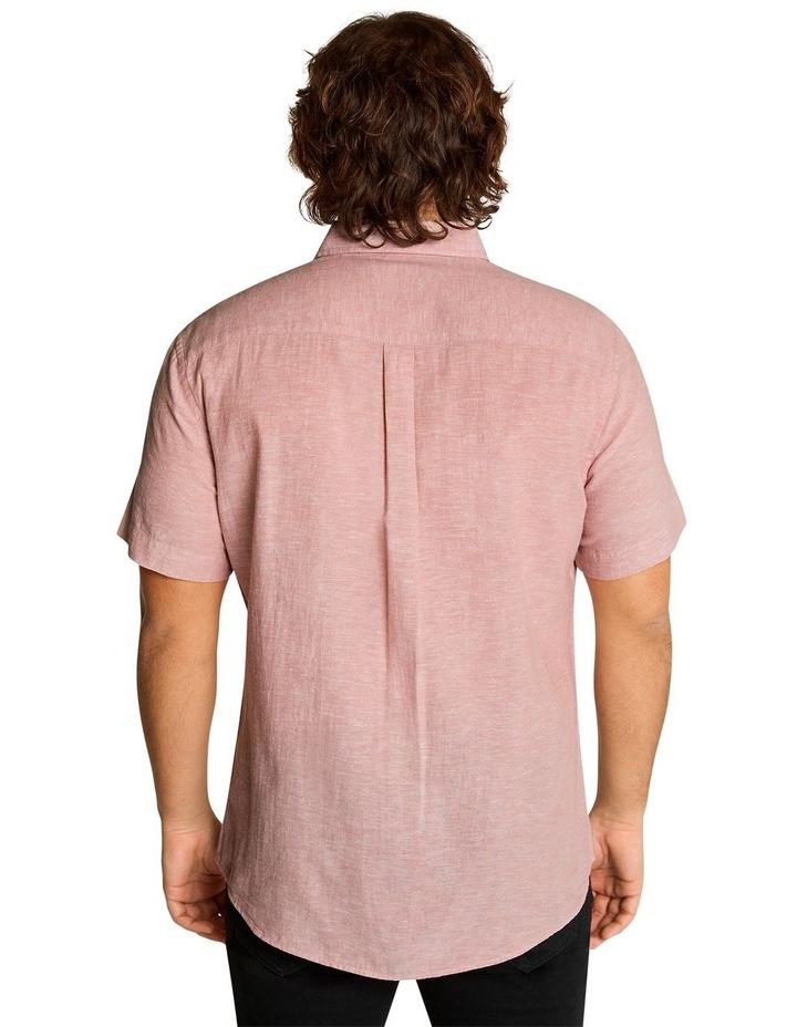 Tahiti Linen Blend Shirt Pink image 3