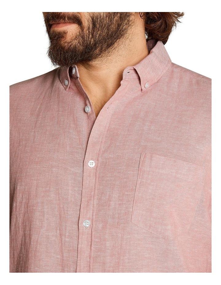 Tahiti Linen Blend Shirt Pink image 4