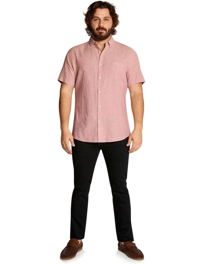 Tahiti Linen Blend Shirt Pink image 5