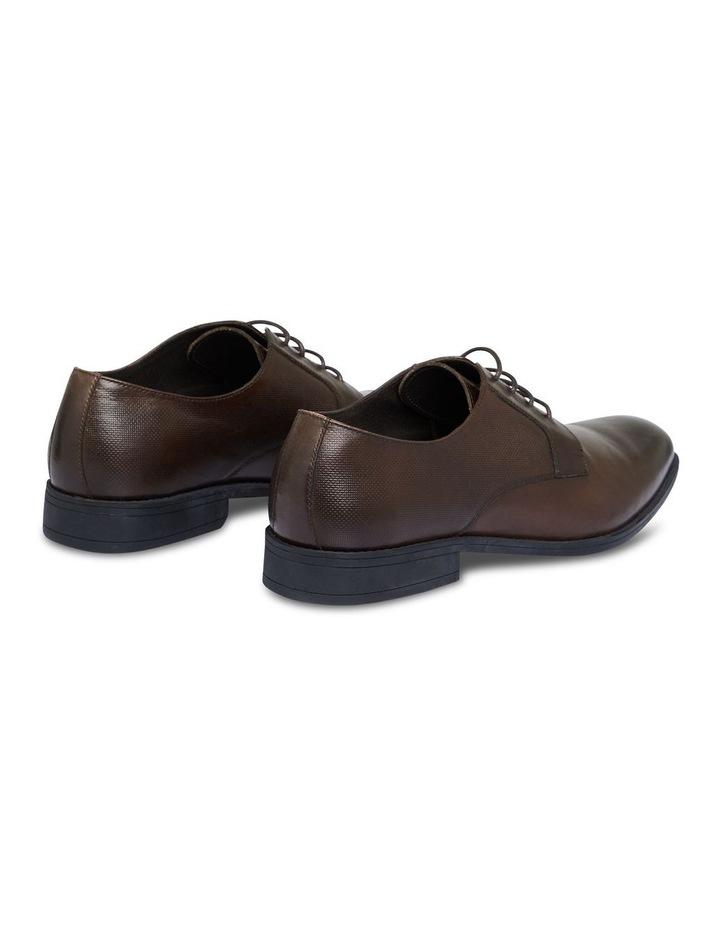 The Verona Textured Dress Shoe Chocolate image 3
