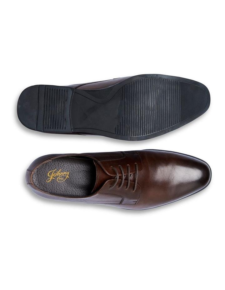 The Verona Textured Dress Shoe Chocolate image 5